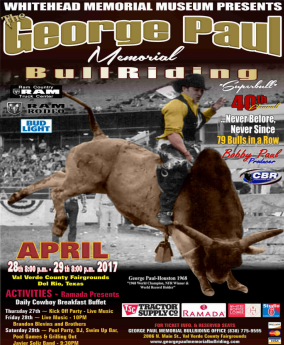George Paul Bull Riding